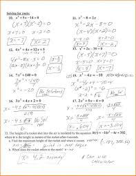 stunning review solving quadratic equations worksheet answers tessshlo by factoring quadratics quad key 417150503 solving quadratic