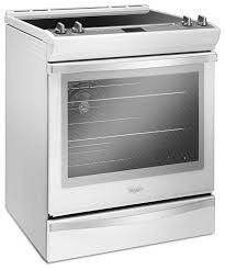white electric range. Whirlpool White Slide-In Electric Range (6.4 Cu. Ft.) - YWEE745H0FH