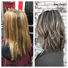 Ash Blonde Highlight Lowlight Transformation By