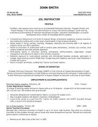 Resumes For Teachers Examples Teaching Skills For Resume Teacher ...