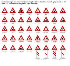 Road Signs Chart India Kolkata Traffic Police