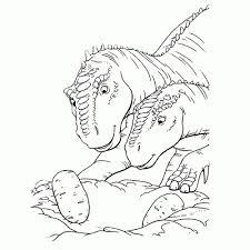 Dinos Kleurplaten Leuk Voor Kids Dinosaurus Kleurplaat Printen