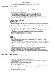 How To Layout Resume Piping Layout Resume Wiring Diagram