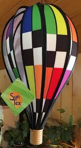Wind Garden  Hanging Spinner  18 Inch Hot Air Balloon ...