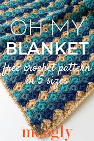Crochet Patterns Blanket Classy Oh My Blanket Moogly