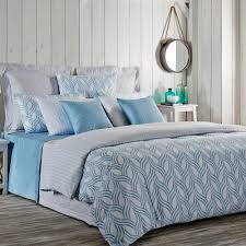 floor europe bed bath beyond duvet covers 100pct sateen weave cotton material wave design blue in