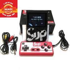 MÁY CHƠI GAME 4 NÚT CẦM TAY SUP 400 GAME BOX IN 1 chính hãng 65,000đ