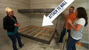 Floating Loft Bed Floating Bunk Beds Tutorial Knock It Off Diy Project East