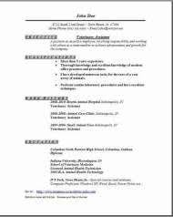 sample resume for veterinary assistant veterinary assistant resume other pinterest animal