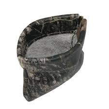 ctm leather camouflage print squeeze coin pouch
