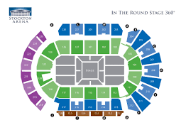 Seating Charts Asm Global Stockton