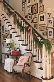 Stairway Christmas Wall Ideas