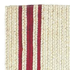 barn red braided rug home design site round