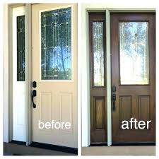 posh how to paint an exterior door without removing it best way to paint a fiberglass