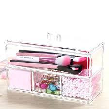 acrylic drawer clear acrylic makeup case cosmetic organizer drawer storage jewelry ca acrylic drawer organizer for