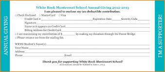 Donation Pledge Cards Under Fontanacountryinn Com