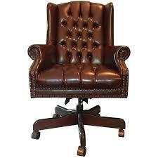 viyet designer furniture seating traditional leather tufted high back desk chair