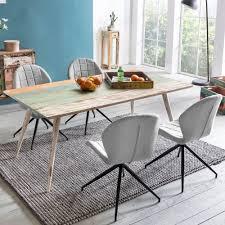 Esszimmertisch Mit 4 Stühlen Holz Massiv Esstisch Set Küchentisch