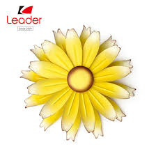 china metal flower outdoor wall decor