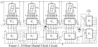 led digital wall clock circuit diagram sougi me rh sougi me basic electrical schematic diagr
