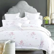 cherry blossom bed set cotton luxury hotel bedding sets with simple print twin queen king size