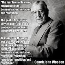 John Wooden Leadership Quotes Unique John Wooden's Nine Promises That Can Bring Happiness Inspirational