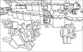 Coloring Pages For Minecraft Creeper Coloring Page Creeper Coloring