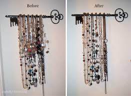 interior: Good Idea To Reface The Simple Diy Jewelry Holders Which Is Made  Of Metal