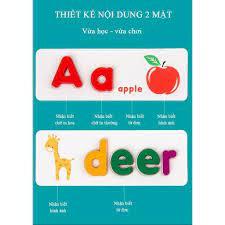Spelling Game - Chữ Cái Tiếng Anh - Đồ Chơi Ghép Chữ Cho Bé Học Ghép Chữ  Tiếng Anh - Hàng Việt Nam Chất Lượng Cao - Flashcard Tiếng Anh - Từ
