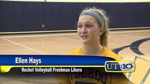UT10 News: Ellen Hays Volleyball Package - YouTube