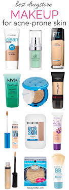 from foundations and bb creams to concealers this is the ultimate guide to the best makeup that will be gentle to your oily acne e skin and