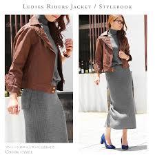 fazarbicar blouson jacket women s autumn light alter biker blouson leather jackets double riders jacket leather 2016 winter