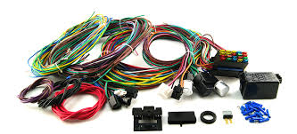 wiring harnesses scorpion products auto parts for hot rods and 20 circuit wiring harness street rod rat rod custom classic cars