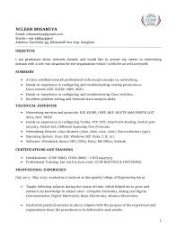 Switch Engineer Sample Resume