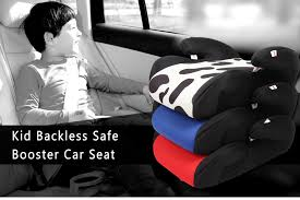 portable backless safe booster travel car seat for children kids