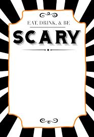 32 Free Halloween Invites Templates Usmlereview Document
