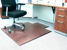 puter chair mat office for laminate floor rug bamboo hardwood thick carpet staples plastic p