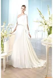 Hochzeitskleider Für Mollige Con Einschulter Günstige Brautkleider ...