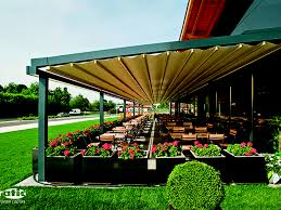 pergola retractable fabric roof awning