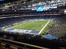 Ford Field Section 347 Detroit Lions Rateyourseats Com