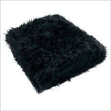 black faux sheepskin rug fur area amazing accents design gy black faux sheepskin rug