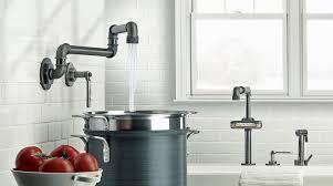 Uberhaus Kitchen Faucet Sinks Faucets Modern Industrial Kitchen Style Watermark Elan