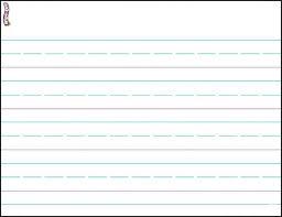 Free Printable Kindergarten Writing Paper Template Carmunityclub