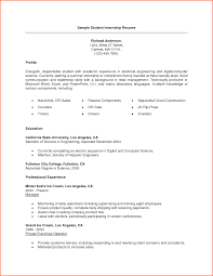 sample cv for internship in finance service resume sample cv for internship in finance sample internship cv internship cv formats templates 11 college internship