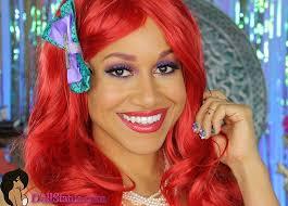ariel inspiried makeup ds