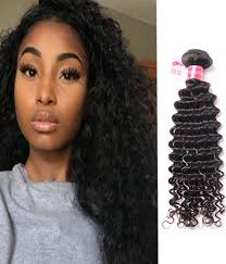 Black Weave Hairstyles 24 Stunning Deep Curly Brazilian Remy Human Hair Weave R Grade Chochair
