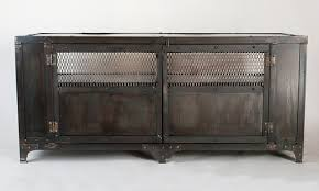 industrial metal furniture. Custom Handmade Industrial Metal Media Cabinet Tv Stand Regarding Prepare 2 Furniture N