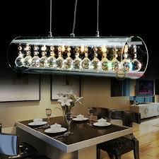 modern crystal led chandelier ceiling lights pendant lamp dining led dining room chandeliers on