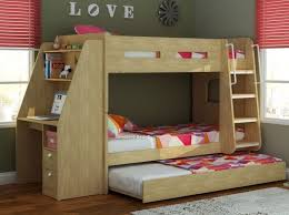 magnificent childrens bunk beds with desk 12 best images about triple sleeper bunks on bunk