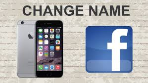 How to change your name on mobile app